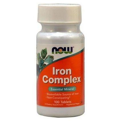 Now Iron Complex kapszula - 100 db