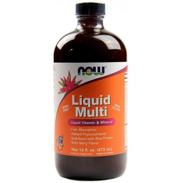 Now Liquid Multi erdei gyümölcslé - 473ml