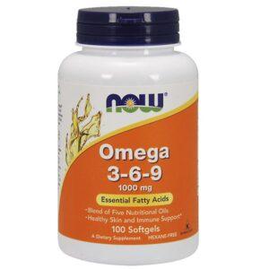 Now Omega 3-6-9 kapszula - 100 db