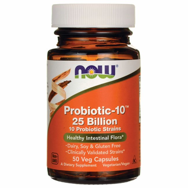 Now Probiotic-10 kapszula - 50db