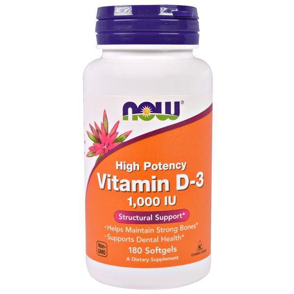 Now D3-vitamin 1000NE lágyzselatin kapszula - 180db