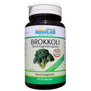 Nutrilab Brokkoli kapszula - 30db