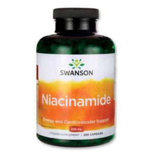 Swanson Niacinamid B3-vitamin kapszula - 250db