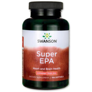 Swanson Super EPA Omega 3 halolaj lágyzselatin kapszula - 100db