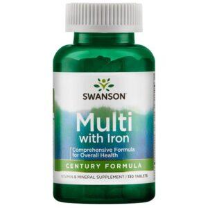 Swanson Century Formula + Vas multivitamin - 130db