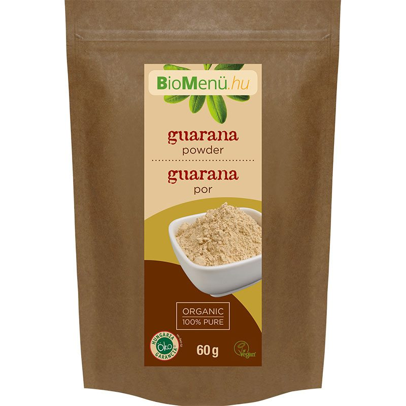 Biomenü bio guarana por - 60g