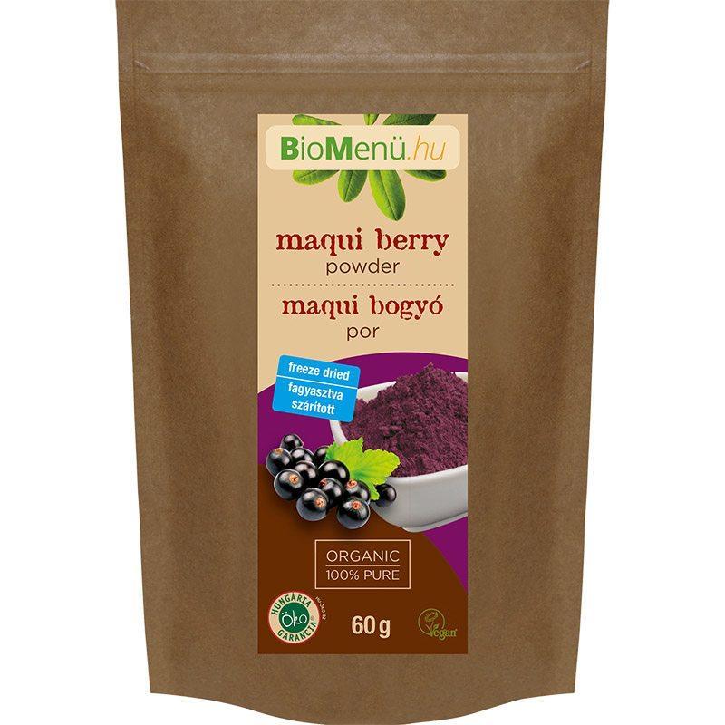 Biomenü bio maqui berry kivonat por - 60g