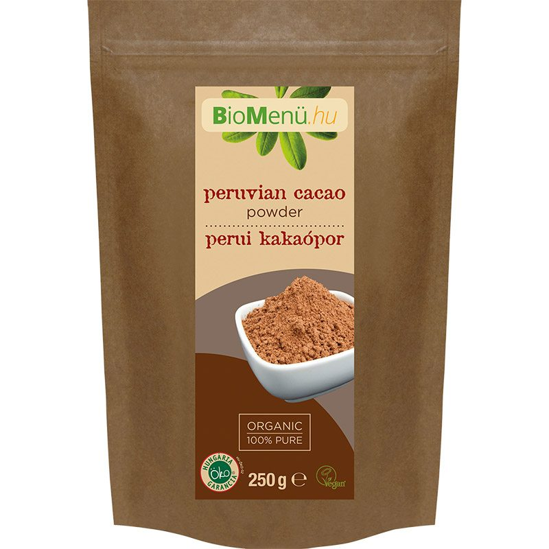 Biomenü bio perui kakaópor - 250g