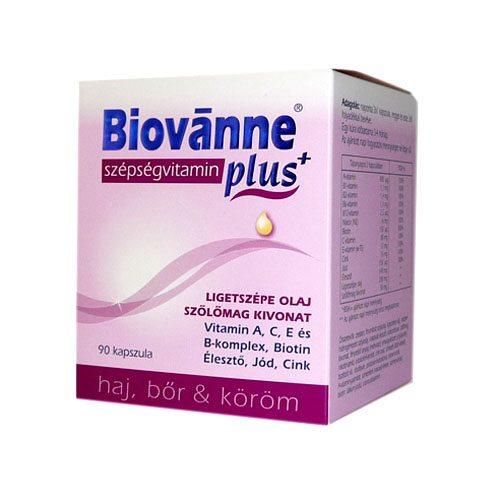 Biovánne Plus szépségvitamin kapszula - 90 db