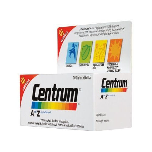 Centrum A-Z multivitamin Luteinnel filmtabletta - 100db
