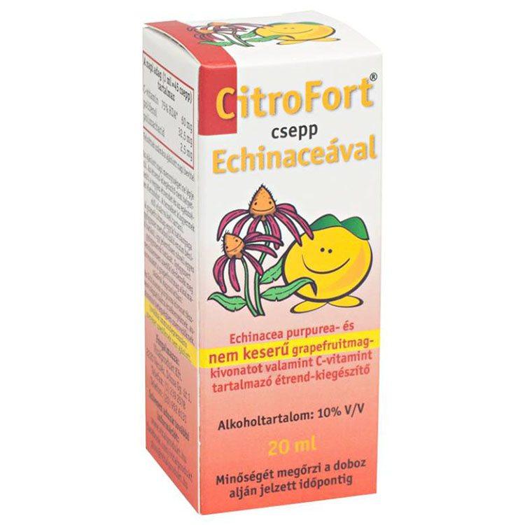 CitroFort csepp echinaceával (nem keserű) - 20ml