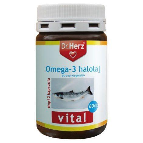 Dr. Herz Omega-3 Halolaj 1000mg kapszula - 60db