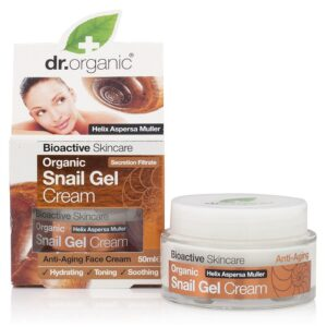 Dr. Organic Bioaktív csigagél arckrém - 50ml