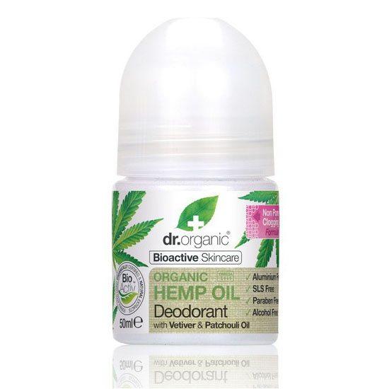 Dr. Organic kendermagolaj golyós dezodor - 50ml