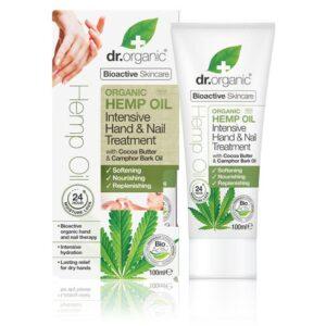 Dr. Organic kendermagolaj intenzív kéz & körömápoló - 100ml