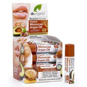 Dr. Organic bio Argán olaj ajakbalzsam - 5.7ml