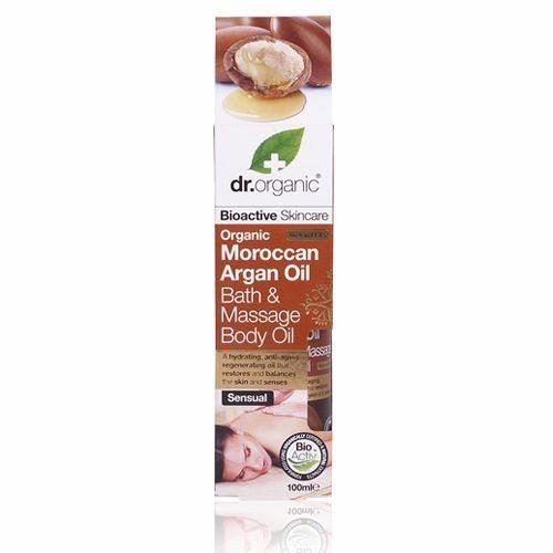 Dr. Organic bio Argán olaj fürdő- és masszázsolaj - 100ml