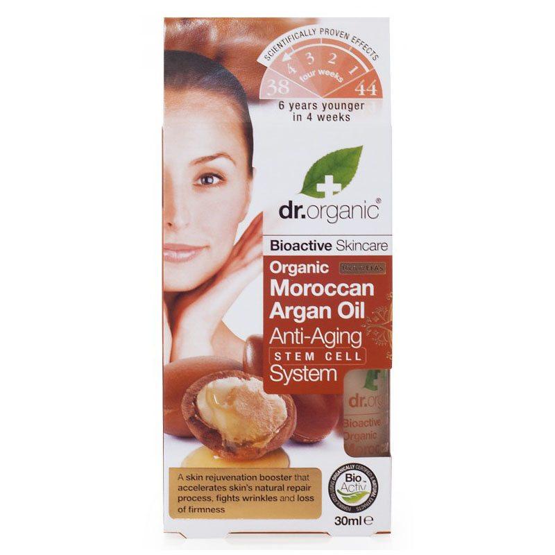 Dr. Organic bio Argán olaj öregedésgátló komplexum argán őssejtekkel - 30ml