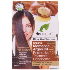 Dr. Organic bio Argán olaj regeneráló hajpakolás - 200ml