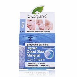Dr. Organic bio Holt-tengeri nappali krém - 50ml