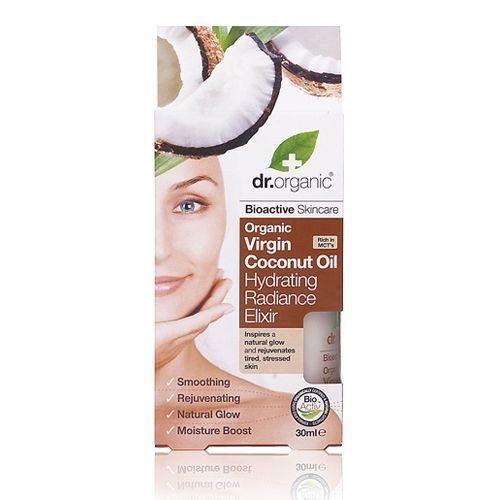 Dr. Organic bio Kókuszolaj hidratáló szépségelixír - 30ml