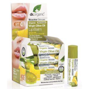 Dr. Organic bio olíva ajakbalzsam - 5,7ml