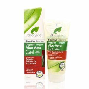 Dr. Organic bio aloe vera gél teafa olajjal - 200ml