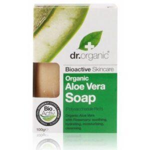 Dr. Organic bio aloe vera szappan - 100g