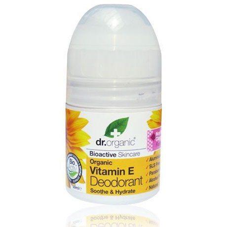 Dr. Organic bio E-vitaminos golyós dezodor - 50ml