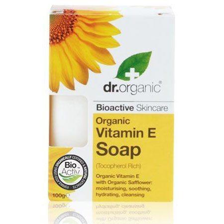 Dr. Organic bio E-vitaminos szappan - 100g