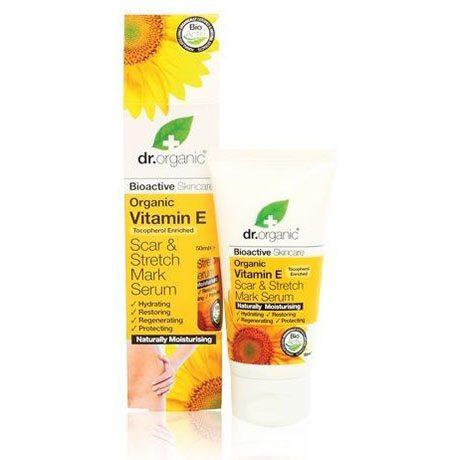 Dr. Organic bio E-vitaminos szérum terhességi csíkok ellen - 50ml