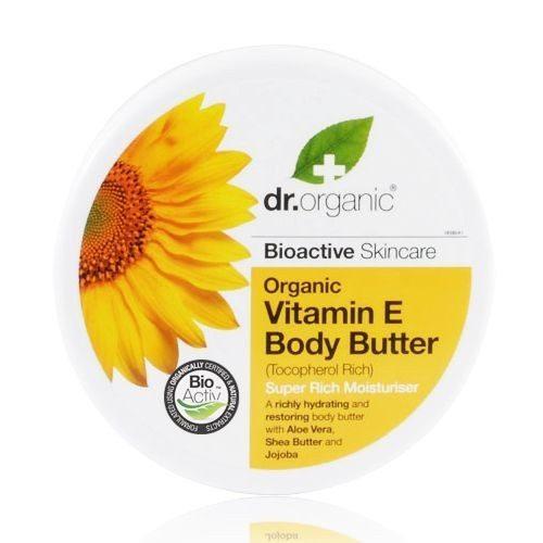 Dr. Organic bio E-vitaminos testápoló vaj - 200ml
