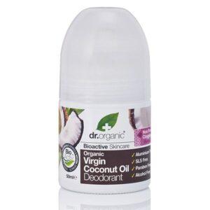 Dr. Organic bio kókuszolaj golyós dezodor - 50ml