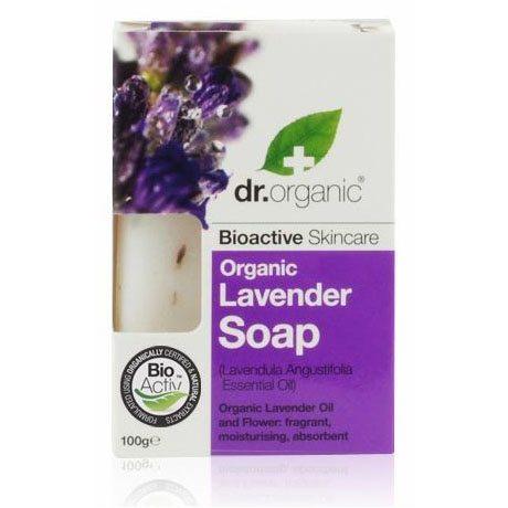 Dr. Organic bio levendula szappan - 100g