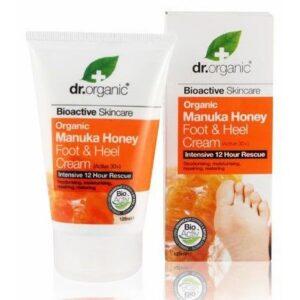 Dr. Organic bio manuka mézes lábápoló - 125ml
