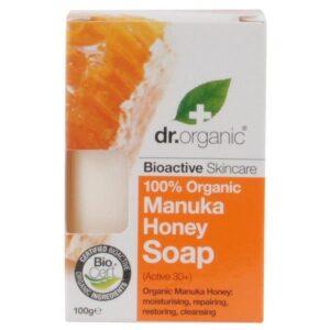 Dr. Organic bio manuka mézes szappan - 100g