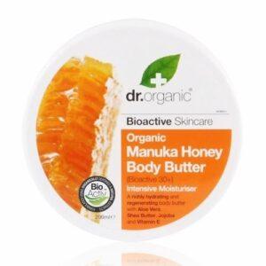 Dr. Organic bio manuka mézes testápoló vaj - 200ml