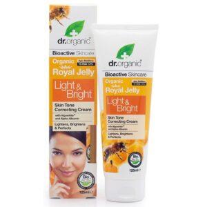Dr. Organic bio méhpempő bőrfolt világosító krém - 125ml