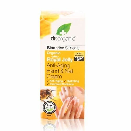 Dr. Organic bio méhpempő kéz- és körömápoló - 125ml
