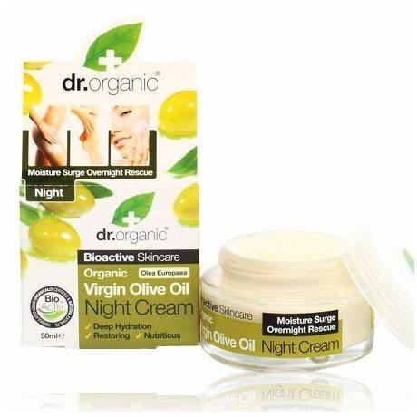 Dr. Organic bio olíva éjszakai krém - 50ml