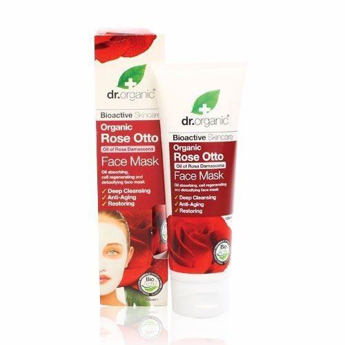 Dr. Organic bio rózsa arcpakolás - 125ml