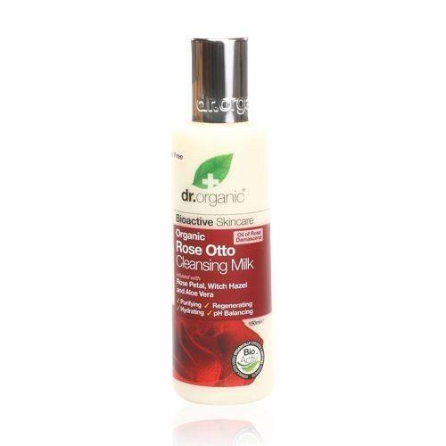 Dr. Organic bio rózsa arctisztító tej - 150ml