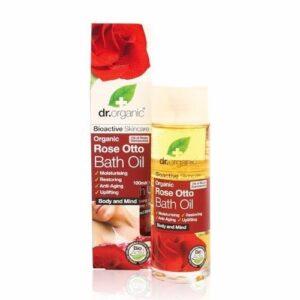 Dr. Organic bio rózsa fürdőolaj - 100ml
