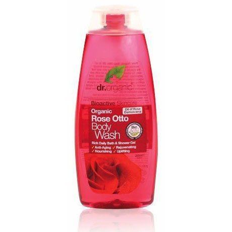Dr. Organic bio rózsa tusfürdő - 250ml