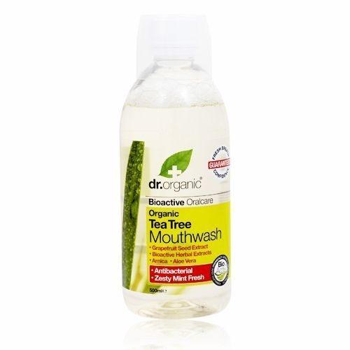 Dr. Organic bio teafa szájvíz - 500ml