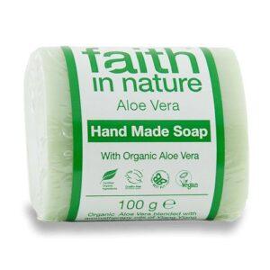 Faith in Nature Bio aloe vera szappan - 100g