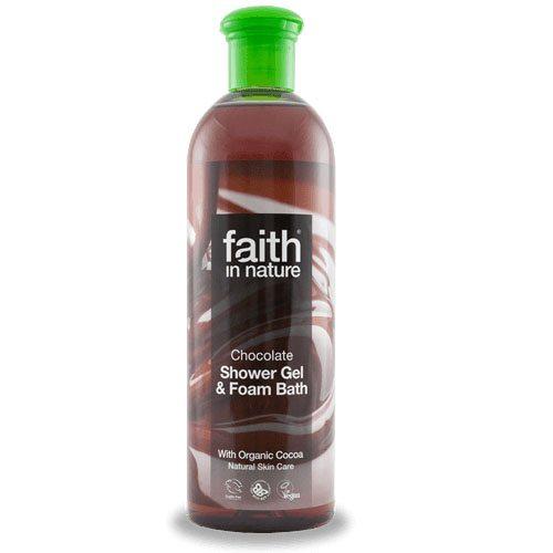 Faith in Nature Bio kakaó (csokoládé) tusfürdő - 400ml