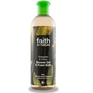 Faith in Nature Bio tengeri hínár tusfürdő - 400ml