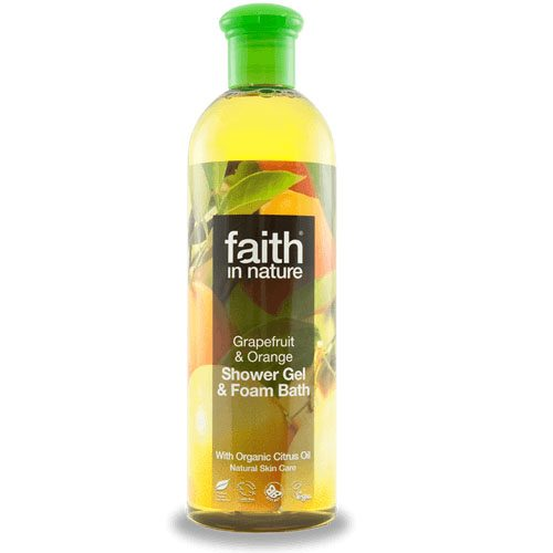 Faith in Nature Grapefruit és Narancs tusfürdő - 400ml