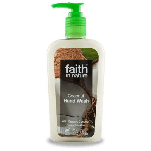 Faith in Nature Kókusz folyékony kézmosó - 300ml